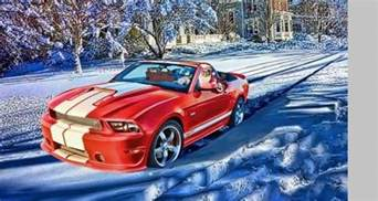 Santa Ford Is This The Best Ford Mustang Santa Claus Picture