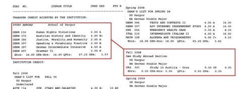 College Grade Letter Meaning Binghamton Binghamton Registrar Services Transcript Key