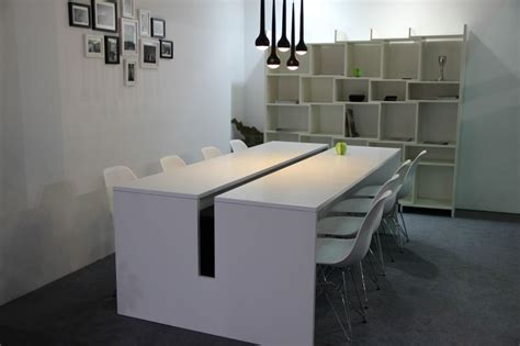 modern office conference table modern meeting desk small mfc office conference desk mfc