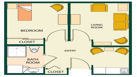 small one bedroom apartment floor plans 1 bedroom apartment ideas small one bedroom apartment
