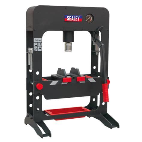 hydraulic bench press hydraulic bench press sealey ppb15 premier 15tonne