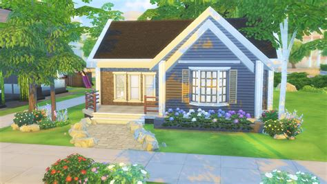 the sims 4 starter home house building