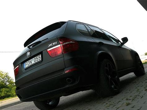 matte bmw x5 stealth suv matte black bmw x5 from lithuania autoevolution