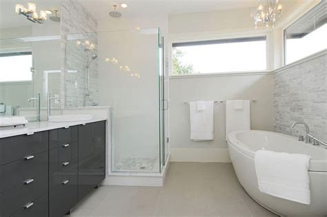 Modern Grey Bathroom Grey Bathroom Vanity Bathroom Contemporary With Bathroom Mirror Beige Tile Beeyoutifullife