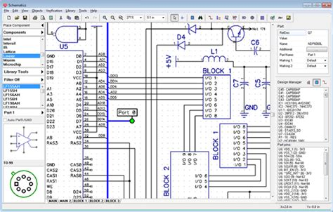 pcb layout software linux schematic design software circuit design software on