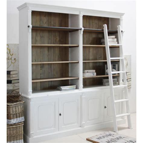 librerie shabby chic libreria provenzale bianco chic outlet mobili provenzali