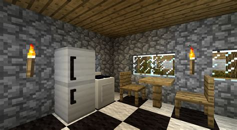 Home Furnishings Store Design by Furniture Mod Minecraft Mods