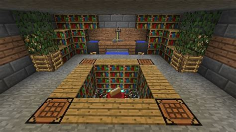 awesome minecraft bedrooms awesome potions and enchanting room very nicely decorated