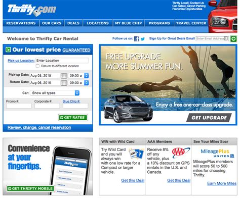 Car Types Thrifty by Top 1 523 Reviews And Complaints About Dollar Rent A Car
