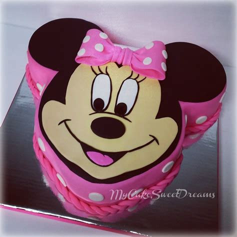 Cco 07 B Minnie Mouse my cake sweet dreams minnie mouse birthday
