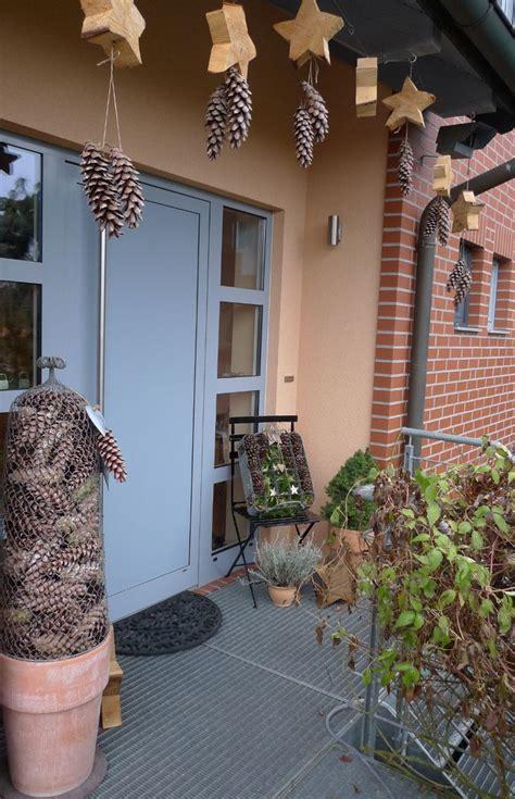 kerzenständer für draußen lichterkette balkon idee