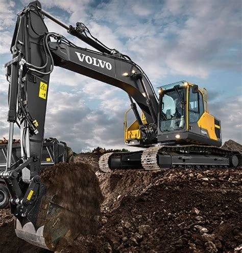 volvo ces  ece excavator protects attachments   password offers side view camera