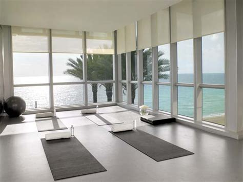 home yoga studio design ideas jade ocean lobby archives jade condos sunny isles beach blog