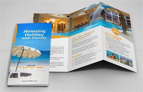 hotel brochure design templates resort brochure template 14 free psd ai eps vector