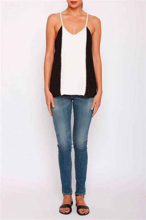 Drew To Front Fashion Caign by Drew Clothing Arletta Tank From Wicker Park By Mulberry