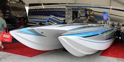 catamaran cigarette boats for sale fast company catamaran or v bottom boats