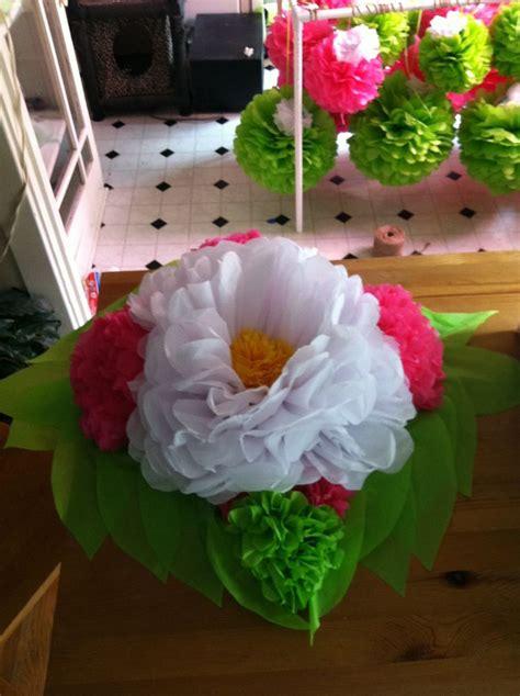 tissue paper flowers centerpieces tissue paper flower centerpiece crafts and diy