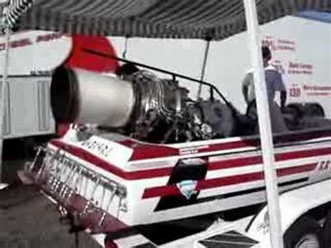 jet boat engine boatdrags jet engine boat in pits youtube