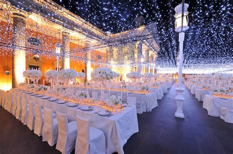 lights wedding reception starry wedding inspiration bridal