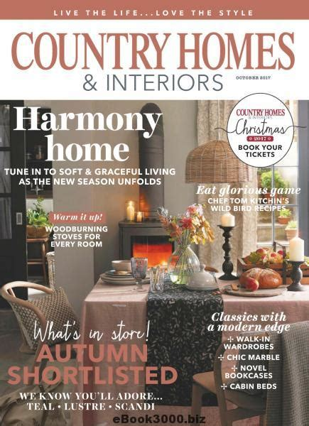 country homes interiors 08 2017 187 download pdf magazines magazines commumity country homes interiors october 2017 free pdf magazine