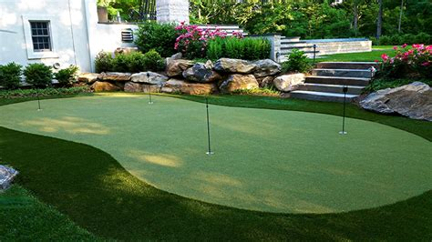 golf green for backyard backyard putting green cost installing a putting green