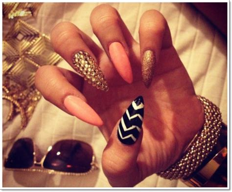 cute stiletto nail designs square stiletto nail designs
