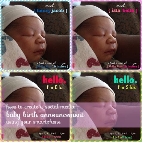 Text Baby Announcement Birth Announcement Text Message Sle Birth