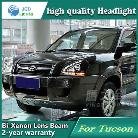 car repair manuals download 2005 hyundai tucson lane departure warning service manual d yl car styling for hyundai tucson headlights 2005 2009 tucson led headlight