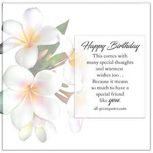 Happy Birthday To A Special Friend Greeting Cards happy birthday a special friend like you free birthday