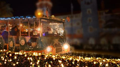 st augustine lights night tour st augustine nights of lights 2017 christmas tour