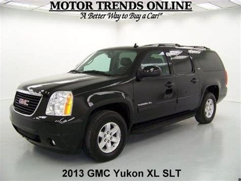 41 620 2013 gmc yukon xl 1500 slt for sale in carrollton texas classified showmethead com sell used 2013 xl slt navigation rearcam leather htd seats bose audio gmc yukon 21k in alvin