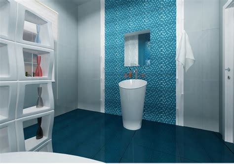 blue floor tile bathroom 40 vintage blue bathroom tiles ideas and pictures
