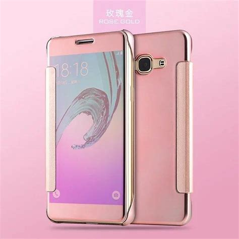 Samsung Galaxy J2 Prime J2prime Flip Mirror Cover cool for samsung galaxy prime j7 j5 on5 on7 j2 j3 pro 2016 2015 luxury slide smart chrome mirror
