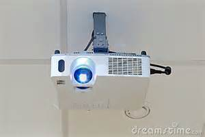 projector on the ceiling stock photo image 20062820