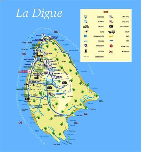 louisiana islands map la digue island map la digue island seychelles map map