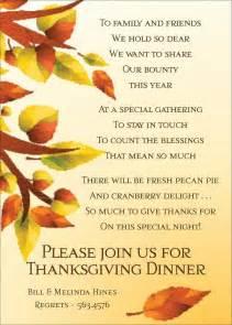 thanksgiving invitation templates thanksgiving invitations