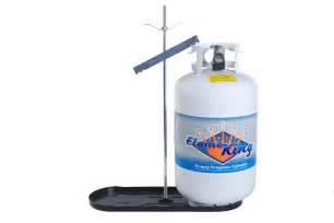 rv propane gas bottle rack 30 lb cylinder kit dual