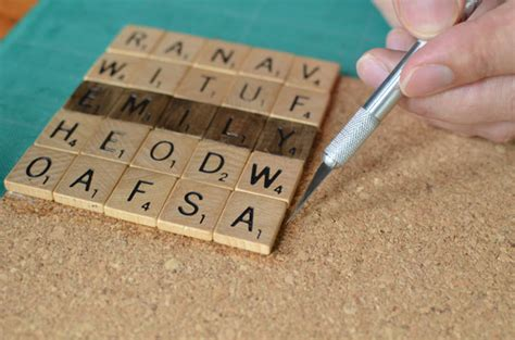 scrabble tiles craft diy wedding ideas scrabble coasters tutorial