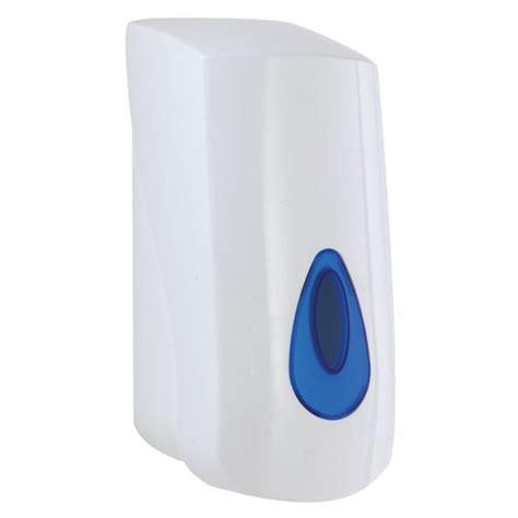 Soap Dispenser 400ml Single White sale now on 400ml plastic soap dispenser next day uk delivery