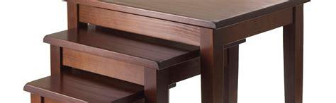 contemporary table ls amazon amazon com winsome wood nesting table walnut kitchen