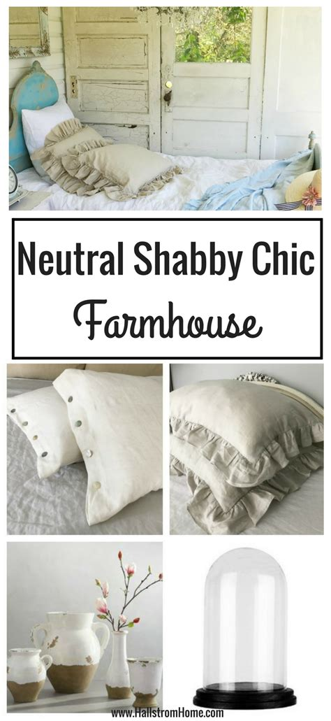 my neutral shabby chic farmhouse hallstrom home