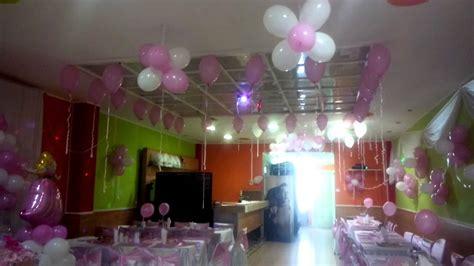 decoraci 243 n bautizo ni 241 a rosado y blanco