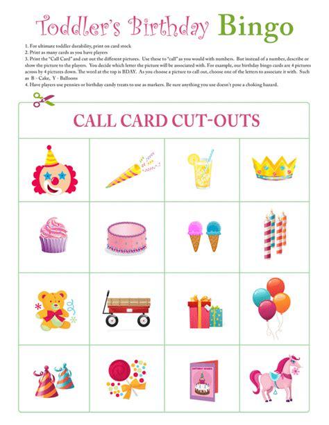 Printable Bingo Instructions   toddler birthday bingo game instructions free printable