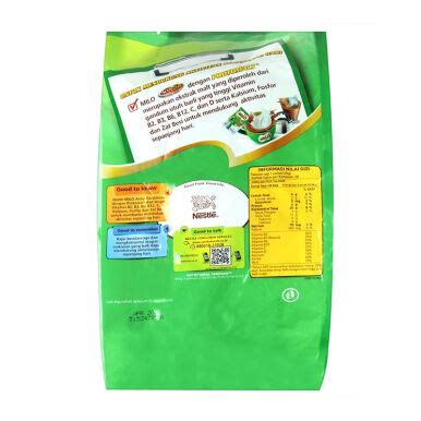 Milo Activ 3in1 jual milo active go 3in1 polybag 35g x 20pcs 700gr jd id