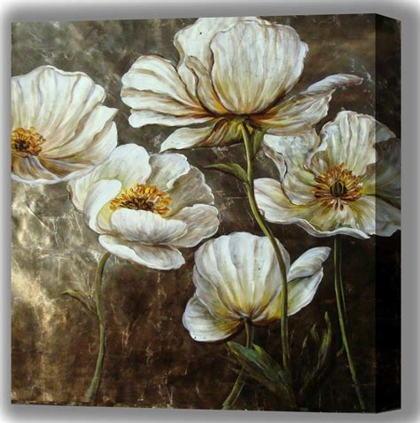 decorative flower oil paintings of flowers decorative floral painting oil