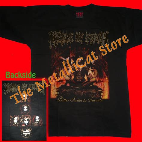 Cd Cradle Of Filth Bitter Suites To Succubi t shirt cradle of filth bitter suites to succubi cd size l