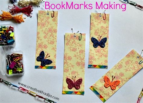 Paper Bookmarks To Make - how to make paper bookmarks in two minutes