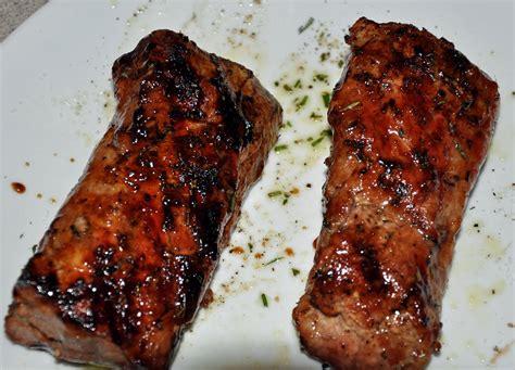 my carolina kitchen grilled pork tenderloin with