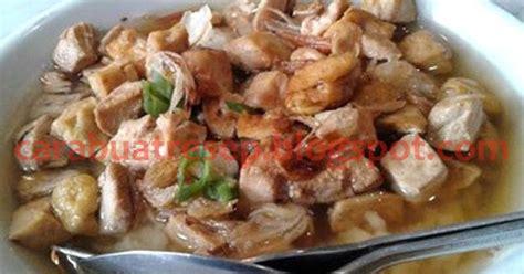 cara membuat soto ayam menggunakan bahasa jawa cara membuat nasi bakmoy halal resep masakan indonesia