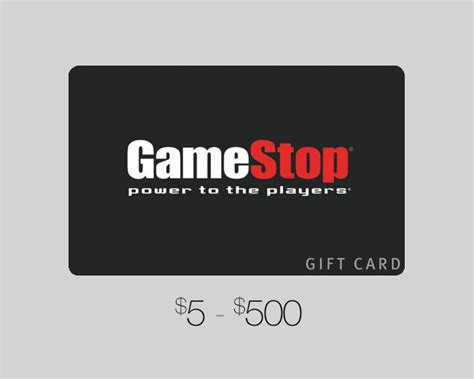 gamestop gift card u s games distribution - Game Shop Gift Card
